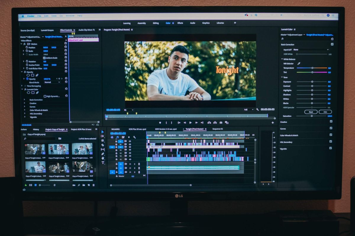 video ads - cura l'editing