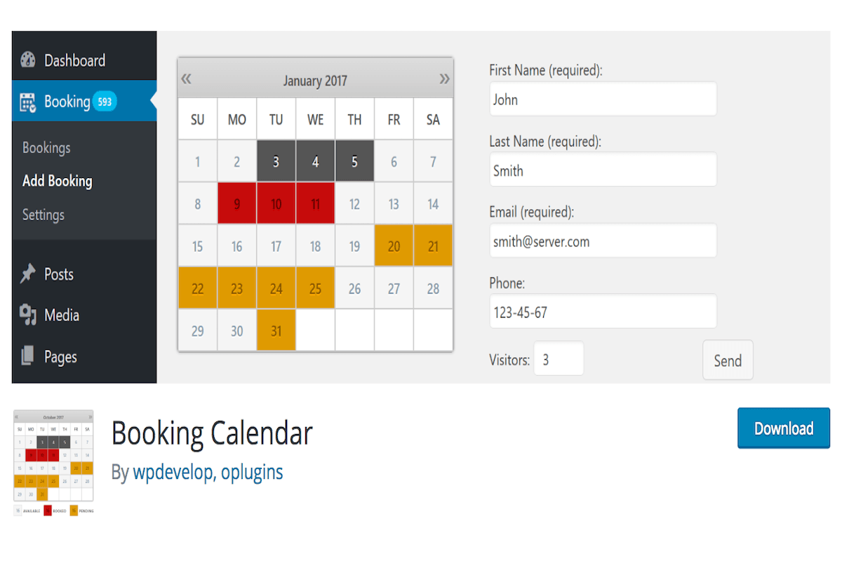plugin-prenotazioni-booking-calendar I migliori plugin Wordpress per prenotazioni e appuntamenti