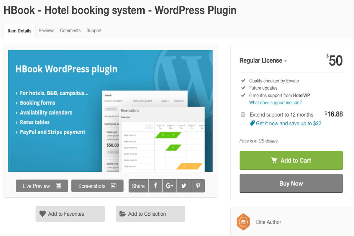 plugin-prenotazioni-hbook I migliori plugin Wordpress per prenotazioni e appuntamenti